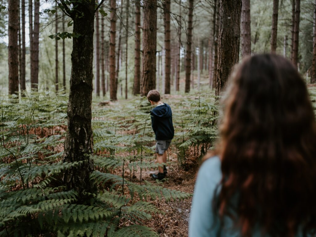 A contatto con la natura, come quando eravamo bambini...