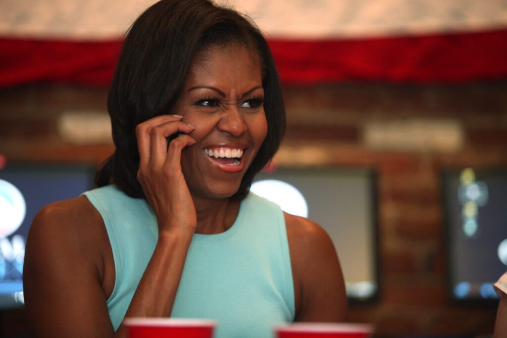 Michelle Obama Photo by Tom Miller