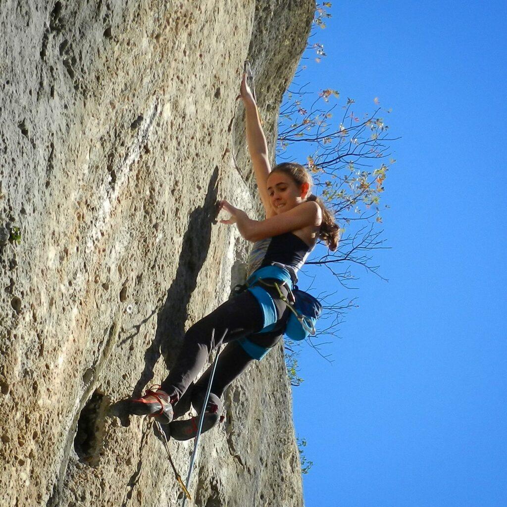 Laura Rogora, quando arrampicare è un'arte - Foto di Nicola Milanese