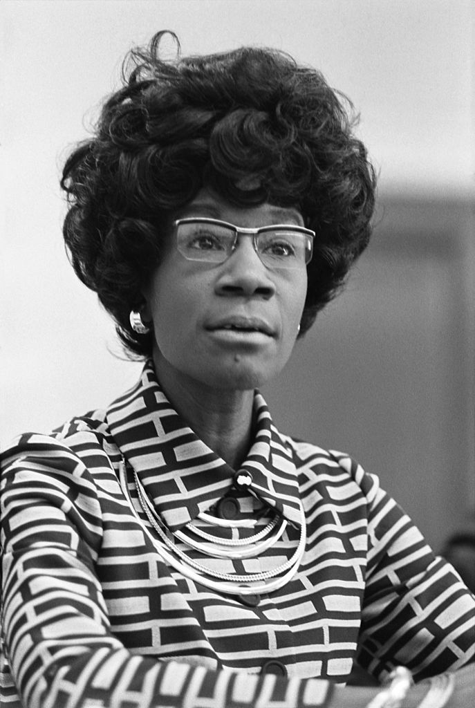 Shirley Chisholm copyright credits:  U.S. News & World Report collection at the Library of Congress