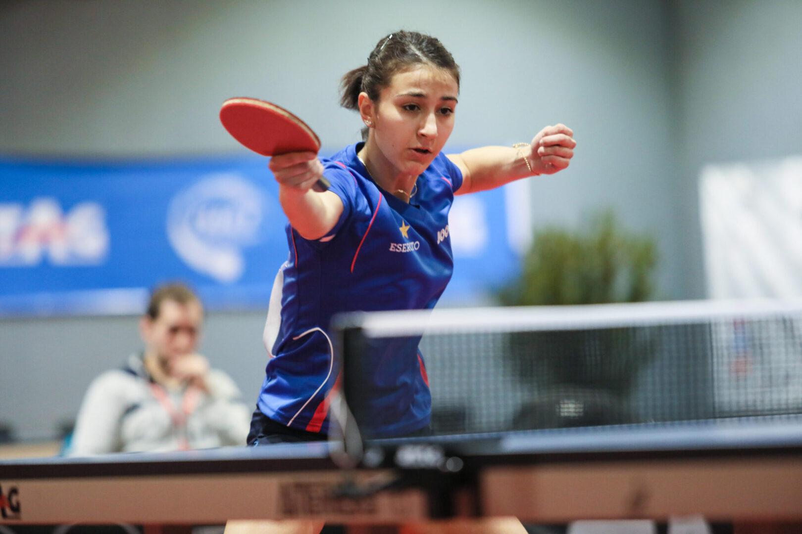 Giorgia Piccolin, campionessa italiana di tennis tavolo