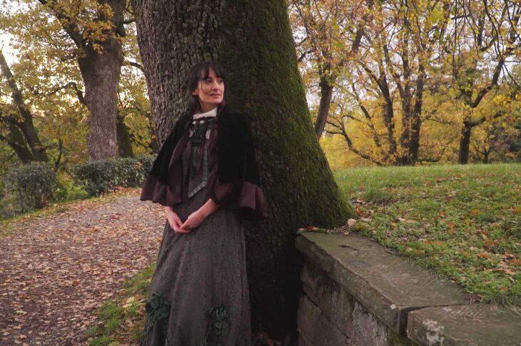 Camilla Bianchini come Emily Bronte