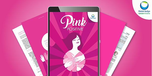PINK POSITIVE, una raccolta di testi indipendenti curati da esperti per le donne che affrontano il cancro