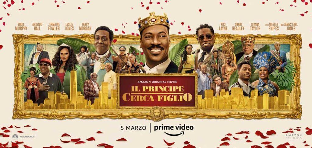 La forza delle donne nel sequel di Il Principe cerca moglie: Il principe cerca figlio, su Amazon dal 5 marzo
