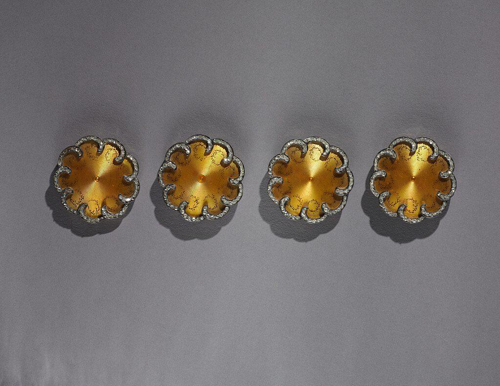 Bottoni creati da Peter Carl Fabergé - collezione Cleveland Museum of Art