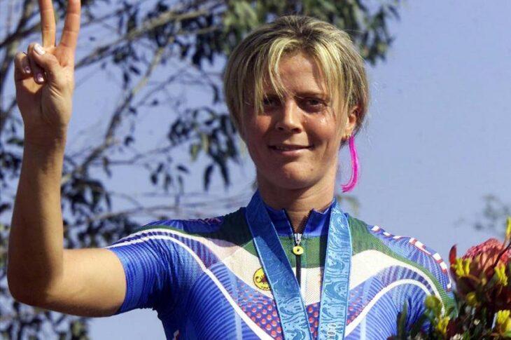 Paola Pezzo, la regina della mountain bike