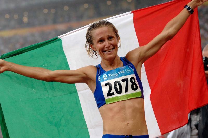 Elisa Rigaudo, la regina italiana della marcia   Foto: FIDAL - Federazione Italiana Di Atletica Leggera