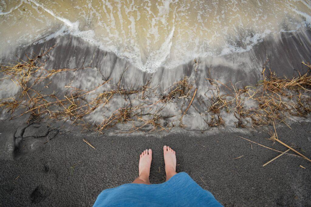 La spiaggia ecologica